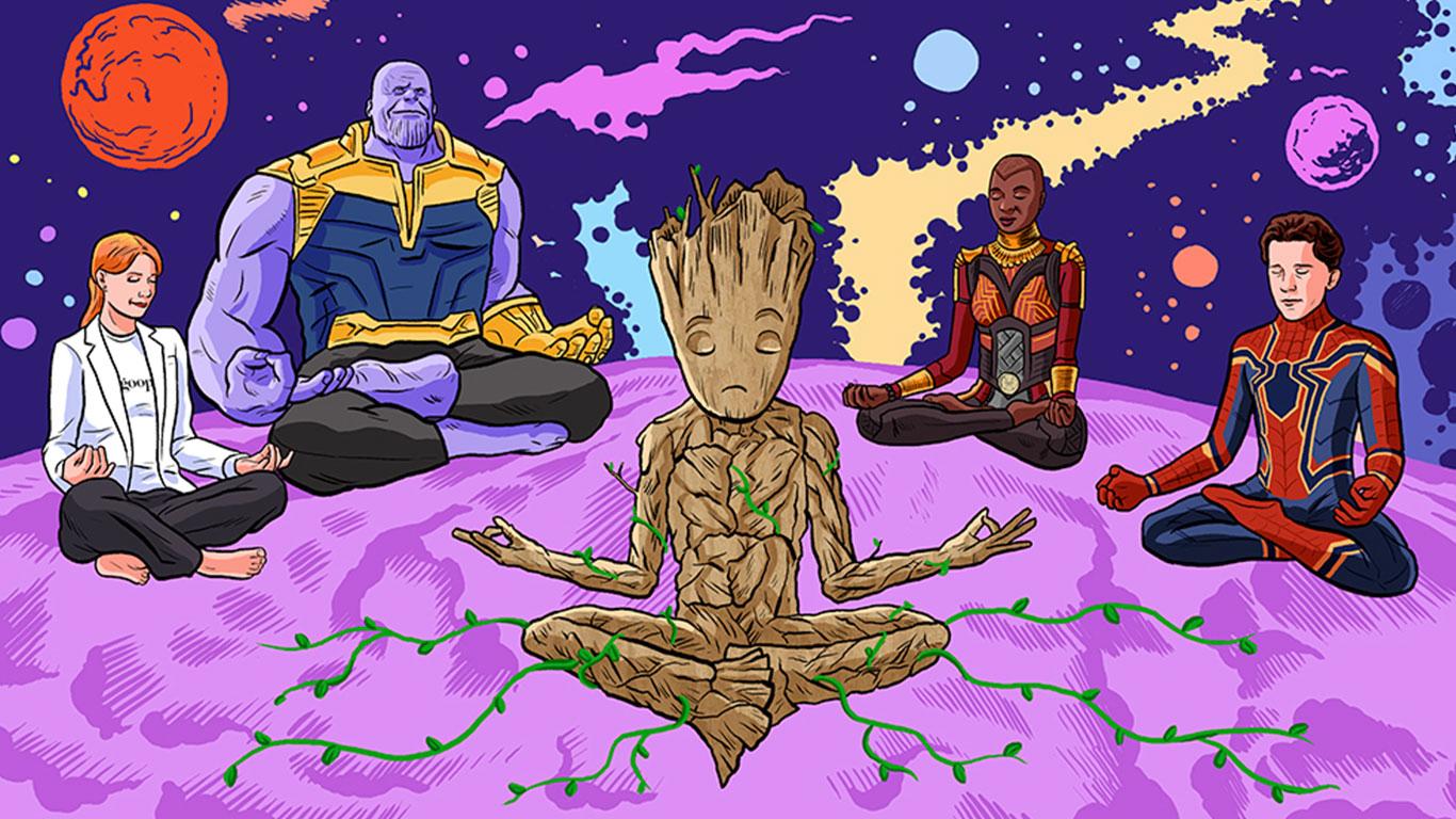 Avengers Transzendentale Meditation