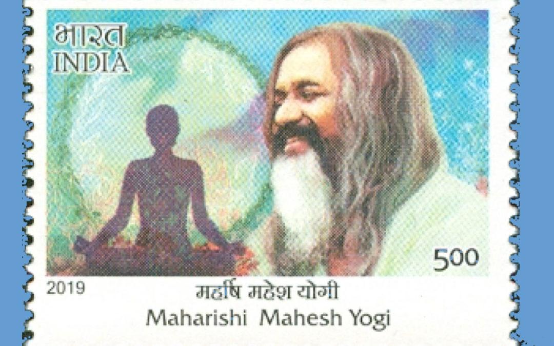 Indische Post veröffentlicht Briefmarke mit Maharishis Portrait