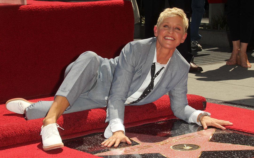 Ellen DeGeneres: »Nicht nur halsabwärts«